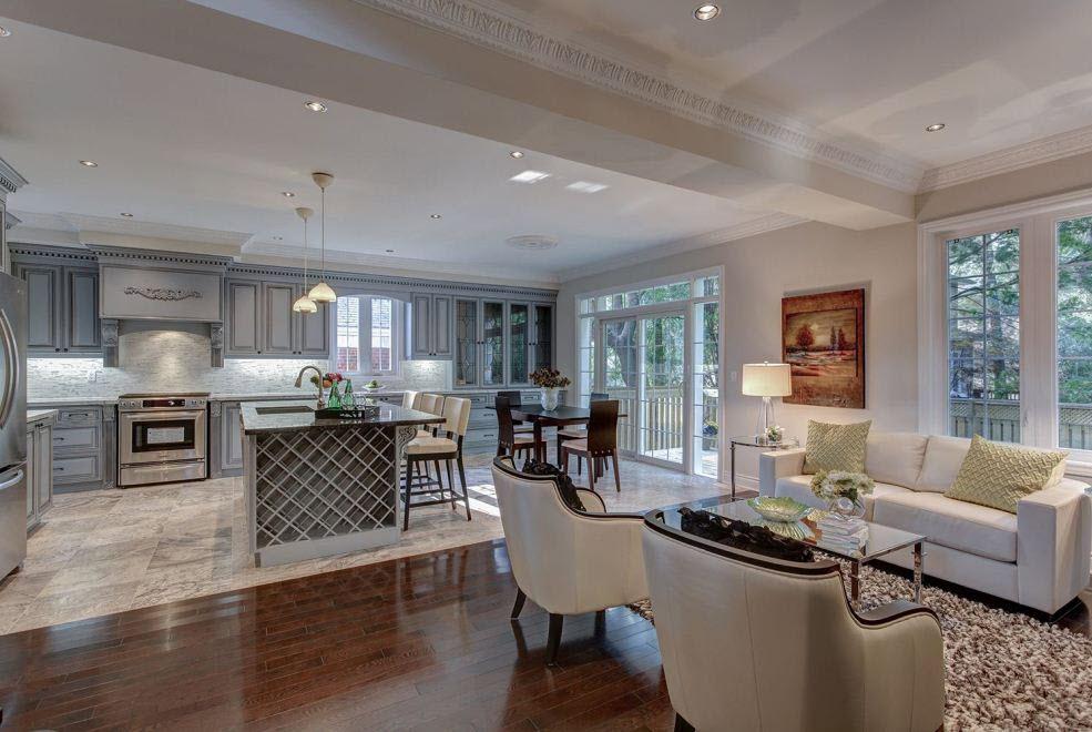28 Open Living Room Kitchen Designs 17 Open Concept Kitchen